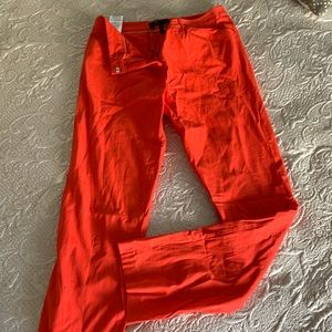 Bcbg Maxazria Size 08 Red Pant Never worn